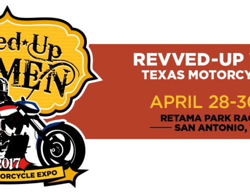 Turncycle sponsor's Revved Up Woman's Motorcycle Expo in Texas!